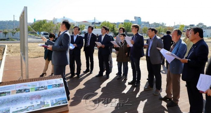 함안군의회, 관내 주요사업장 현장 방문