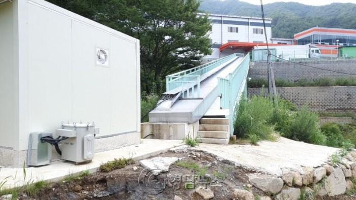 '지리산 물하나' 생수 화인바이오, 불법공작물 무단설치 의혹