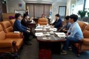 조규일 시장, 방통대 총장 만나 경남지역대학 현안 논의