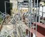진주 유등 구조물, 안전사고 무방비...  쓰레기와 함께 방치
