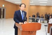 이상경 경상대총장 '과기대와 통합 국회 관심과 지원' 요청