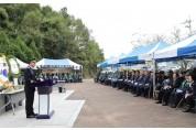 6.25참전 전사 및 순직 경찰관 추모제 함안서 개최