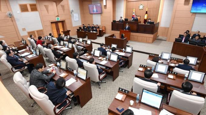 제224회 김해시의회 제2차 정례회 개회